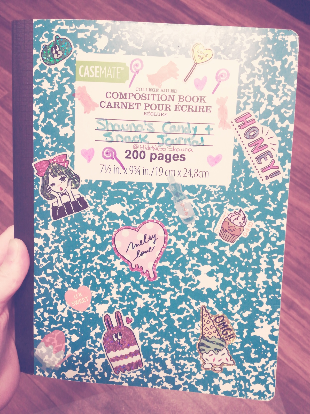 Candy Journalling
