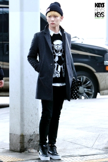 shinee key airport style 130113