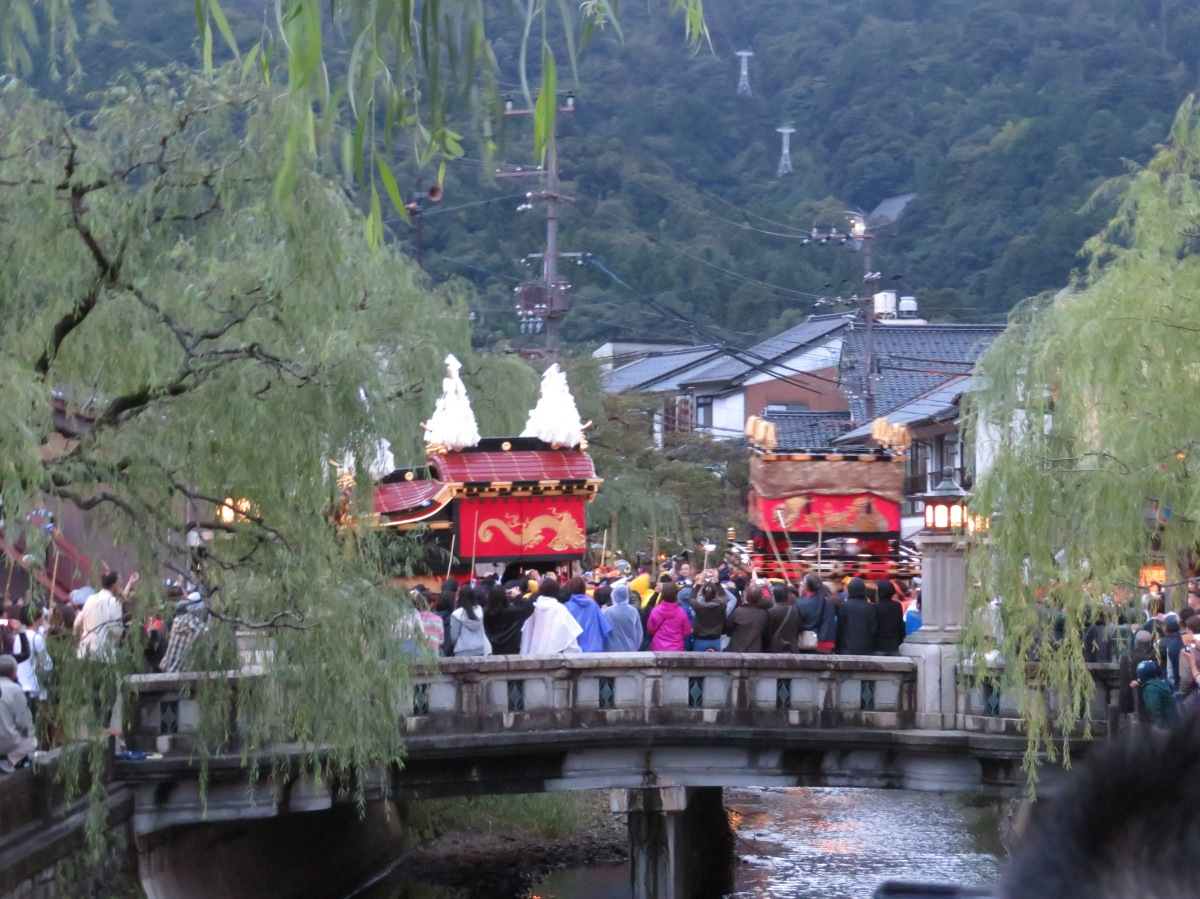 Japan Memories Day 15: Kinosaki Straw Handicrafts and Impressive Autumn Festival!