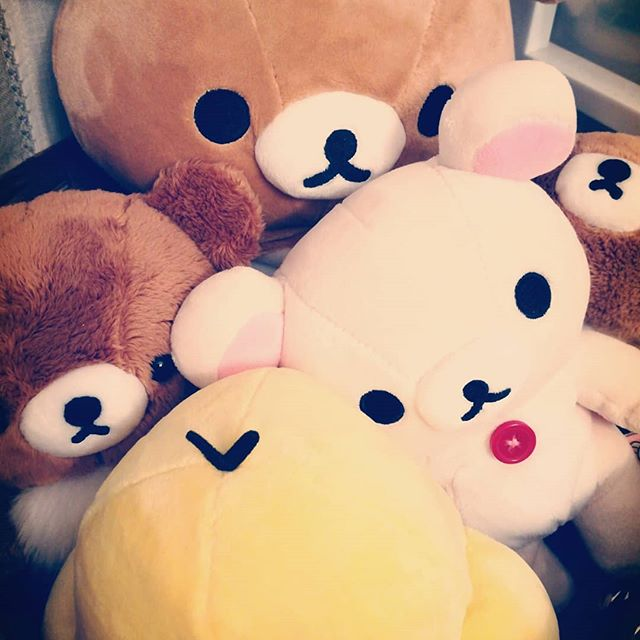 rillakkuma stuffies