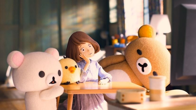 Rilakkuma and Kaoru on Netflix!