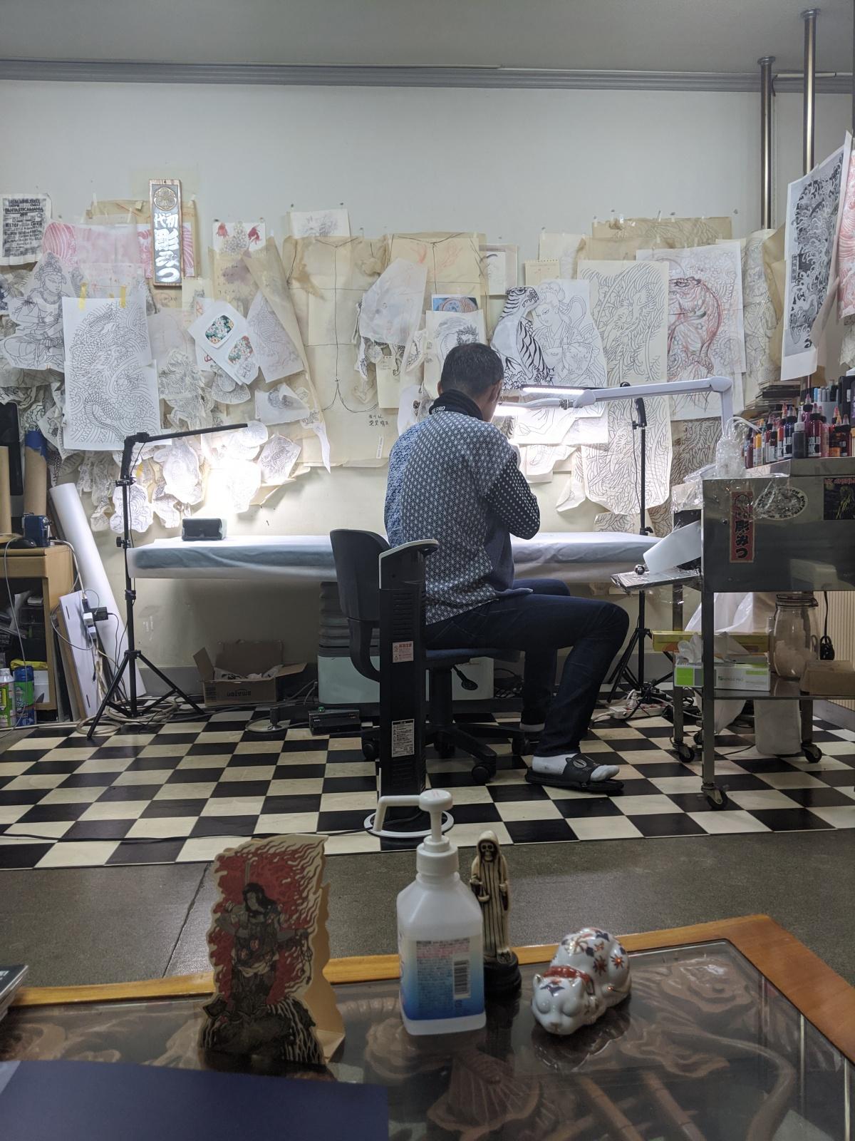 Tokyo Memories Day 10: Tebori Handpoke Tattoo withHorimitsu